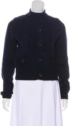 DSQUARED2 Wool Knit Cardigan