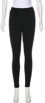 Alaia Wool High-Rise Leggings