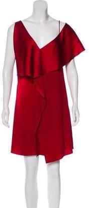 Diane von Furstenberg Mini Ruffle Dress