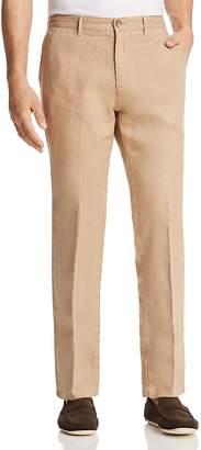 BOSS Crigan Linen Regular Fit Pants