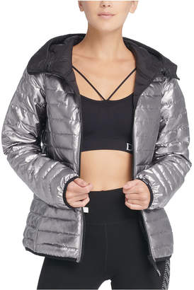 DKNY Sport Reversible Packable Hooded Jacket