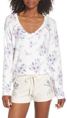 PJ Salvage Peachy Floral Top