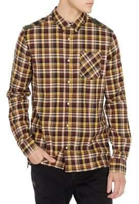 Buffalo David Bitton Sooter Slim-Fit Plaid Button-Down Shirt