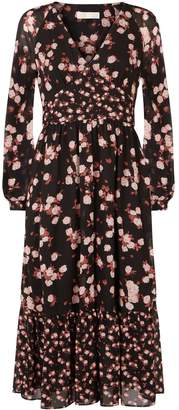 MICHAEL Michael Kors Raglan Sleeve Floral Dress
