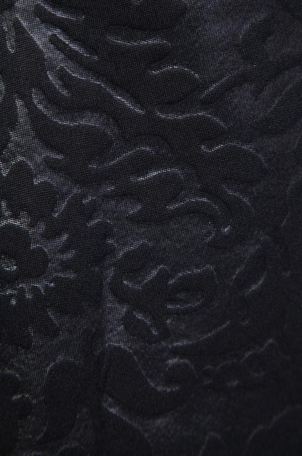 Tibi Tish Embossed Sleeveless Dress