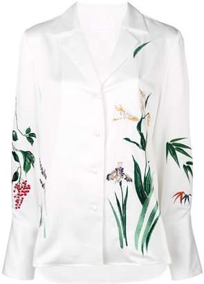 Mame fauna print shirt
