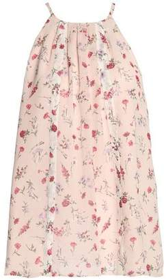 Joie (ジョア) - Joie Pleated Floral-Print Silk Crepe De Chine Top