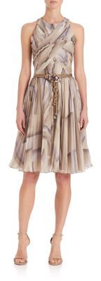 Ralph Lauren Collection Lucille Printed Dress $3,990 thestylecure.com