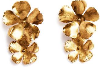Jennifer Behr Chloe Statement Flower Earrings