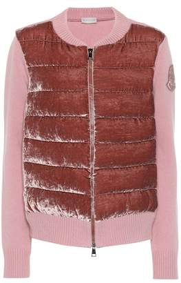 Moncler Wool and cashmere-blend cardigan