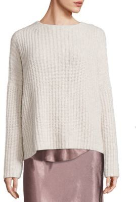 Vince Ladder Stitch Cashmere Blend Sweater $445 thestylecure.com