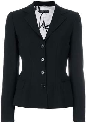 Dolce & Gabbana PRE-OWNED slim fit blazer