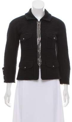 Chanel Structured Bouclé Jacket