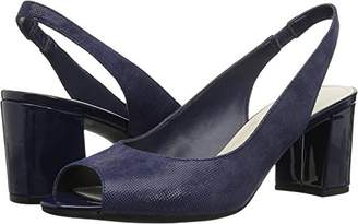 Anne Klein Women's Maurise Peep Toe Sling-Back Pump