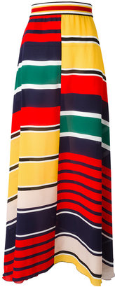 Hilfiger Collection striped maxi skirt $364.75 thestylecure.com