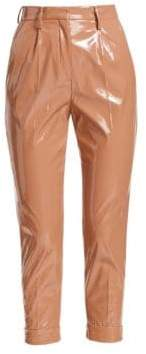 No.21 No. 21 PVC Cropped Ankle Pants