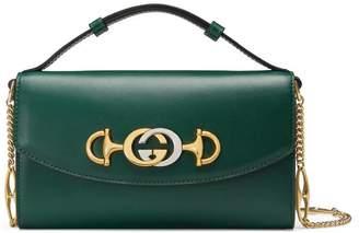 Gucci Zumi smooth leather mini shoulder bag