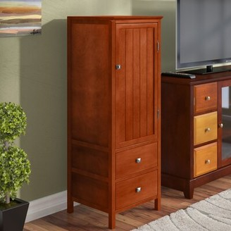 Red Barrel Studio Pilning 2 Drawer Accent Cabinet Red Barrel Studio