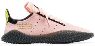 adidas pink dragonball z kamanda 01 suede sneakers