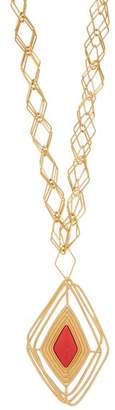 Aurelie Bidermann Filo Gold Plated Necklace - Womens - Gold