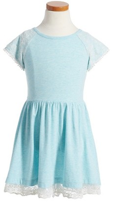 Toddler Girl's Tucker + Tate Lace Accent High/low Dress $32 thestylecure.com