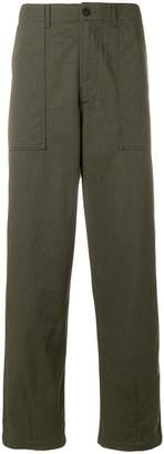 Universal Works Fatigue straight leg trousers