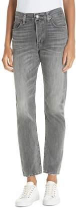 Polo Ralph Lauren High Waist Slim Straight Crop Jeans