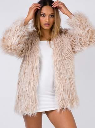 Lioness Stone Fox Coat