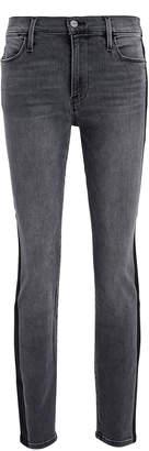 Frame Le High Skinny Tuxedo Coated Jeans