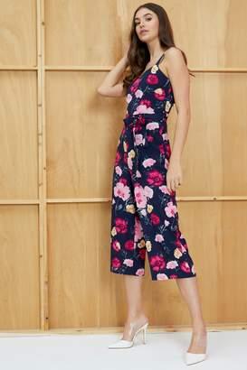 176603f20d9 Next Womens Mela London Poppy Print Culotte Jumpsuit