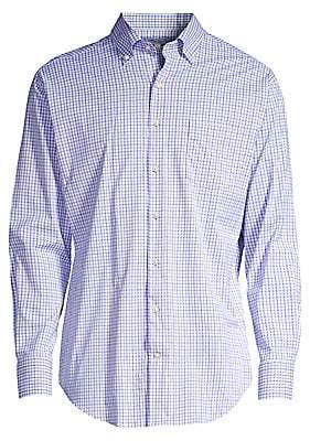 5a62c9f9483 Peter Millar Performance Button Down - ShopStyle