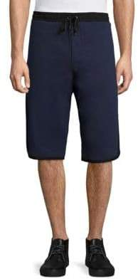G Star Elongated Cotton Shorts