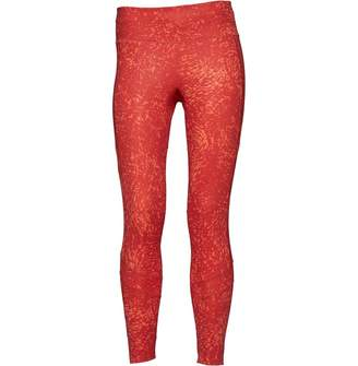 adidas Womens How We Do 7/8 Printed Tights Real Coral/Trace Scarlet