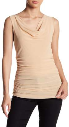 Petit Pois Sleeveless Ruched Top