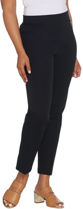 Isaac Mizrahi Live! Petite 24/7 Stretch Slim Leg Pull-On Pants