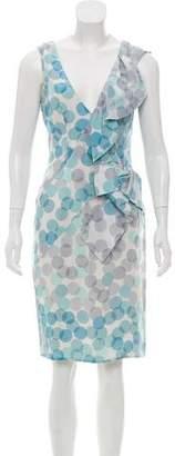 Valentino Silk Sleeveless Polka-Dot Dress w/ Tags