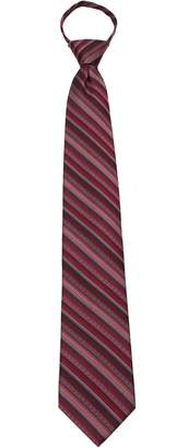 Buy Your Ties Mens Pre Made Striped Fashion Designer Zipper Necktie Stripes