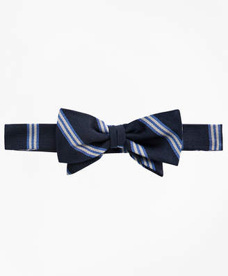 Brooks Brothers Boys BB# 1 Stripe Pre-Tied Bow Tie
