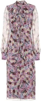 Erdem Danielle floral-printed silk dress