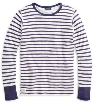 Ralph Lauren Striped Cotton T-Shirt