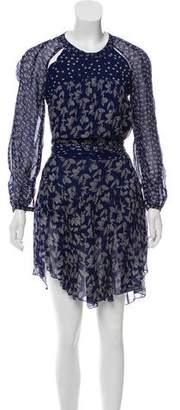 Etoile Isabel Marant Printed Cutout Dress