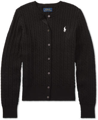 Polo Ralph Lauren Ralph Lauren Big Girls Cable Cardigan