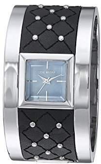 Steve Madden Women's Quartz Silver-Tone and Alloy Fashion Watch