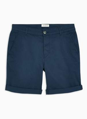 Selected Mens Navy 'Paris' Organic Cotton Shorts