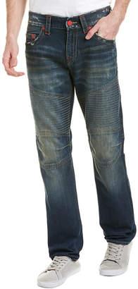 True Religion Sandy Wind Moto Slim Leg