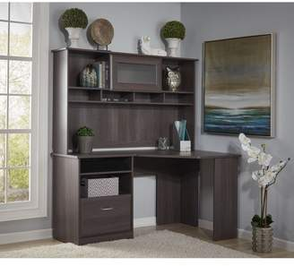 Hillsdale Red Barrel Studio Computer Desk with Hutch