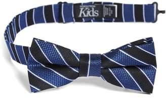 Nordstrom Stripe Silk Bow Tie