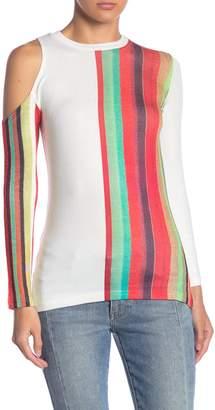 Cutout Shoulder Sweater Shopstyle