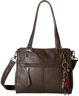 The Sak Alameda Leather Satchel Satchel Handbags