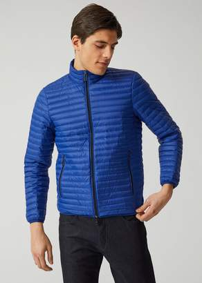 Emporio Armani Technical Fabric Down Jacket